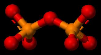 Pyrophosphate - Image: Pyrophosphate 3D balls