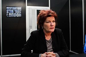 Mosaic (Star Trek) - Kate Mulgrew, who played Kathryn Janeway in Voyager, also voiced the audiobook of Mosaic.