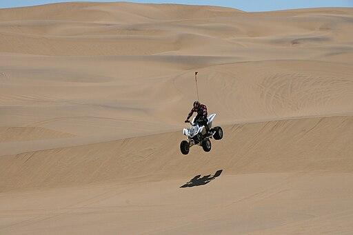 Quad Bike Dune Jump