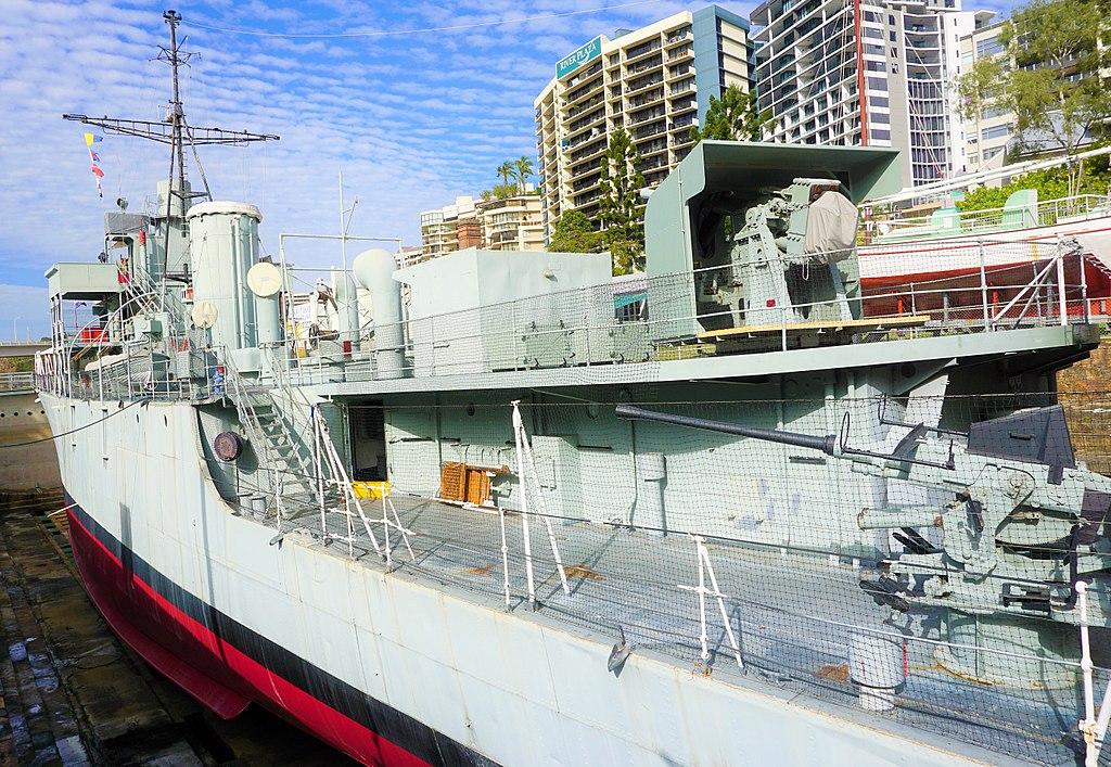 Queensland Maritime Museum - Joy of Museums - HMAS Diamantina (K377) 2