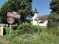 Réclonville (M-et-M) city limit sign.jpg