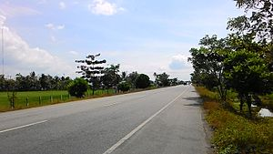 Trans-Sumatran Highway - Trans-Sumatran Highway Sumatra East Road in Pidie, Aceh, Indonesia