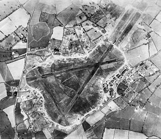 Exeter Airport - Aerial photograph of RAF Exeter, 20 March 1944.
