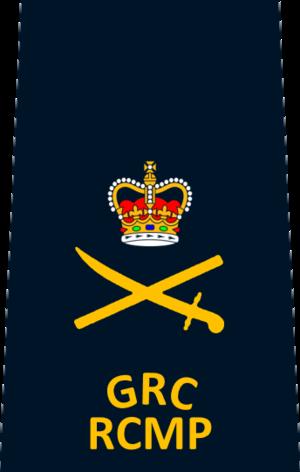 Police rank - Image: RCMP Deputy Commissioner