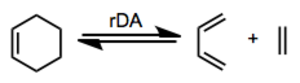 Retro-Diels–Alder reaction - Image: RDA Gen
