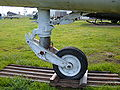 RF-8G Crusader forward landing gear.JPG
