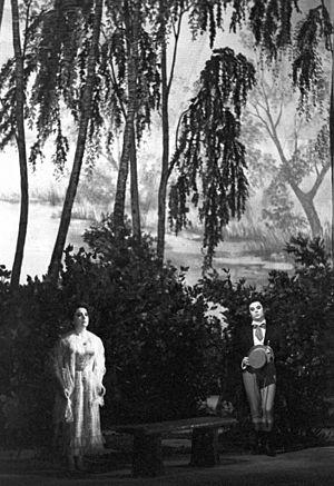 Music of Pyotr Ilyich Tchaikovsky - Tamara Milashkina and Yury Mazurok in a scene from Eugene Onegin
