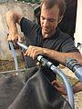 Raccord Vanne Manométrique Soupape Sortie de gaz depuis le manchon de récupération.jpg