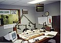 Radio studio of WBNI, showing console.jpg