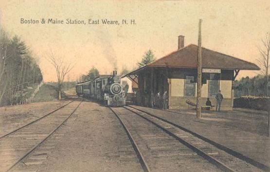 Railroad Station, East Weare, NH