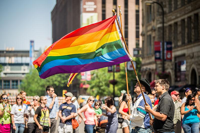 File:Rainbow Flag Twin Cities Pride Parade Minneapolis 9178644107.jpg