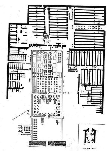 Archivo:Ramesseum plan by James E. Quibell.jpg