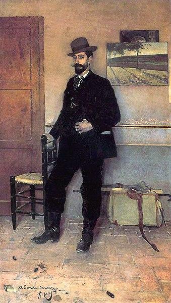 File:Ramon Casas Portrait of Santiago Rusinol.jpg