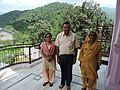 Rana Khurminder Singh, grandson of Rana Narinder Chand alongwith his mother and wife, last ruler of Mhlog State under Simla Hill States ,Himachal Pradesh,India.jpg