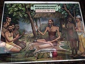 Ranabir Singh Thapa - Ranabir Singh Thapa as Swami Abhayananda