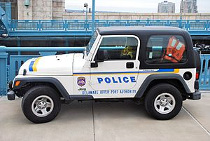 Delaware River Port Authority Police Department - DRPA Police Jeep