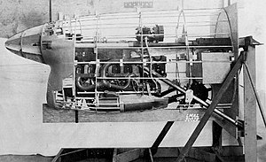 Ranger V-770 - V-770-7 installation in a mockup of the Bell XP-77.
