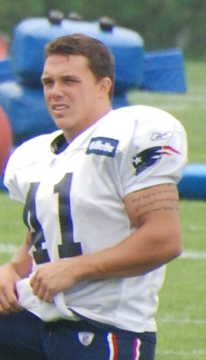 Raymond Ventrone - Ventrone in 2009 training camp with the New England Patriots.