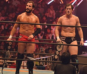 NXT Tag Team Championship - The current NXT Tag Team Champions The Undisputed Era (Bobby Fish (left) and Kyle O'Reilly (right))