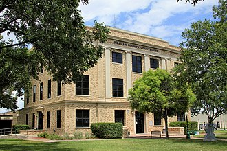 Reagan County, Texas - Image: Reagan county tx courthouse 2014