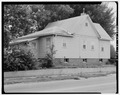 Rear from northwest - 2019 Woodland Avenue (Cottage), Des Moines, Polk County, IA HABS IOWA,77-DESMO,30-4.tif