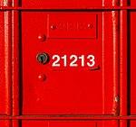 Red postal box, Christchurch, New Zealand.jpg