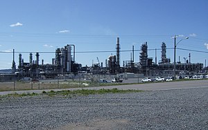 Irving Oil Refinery - January, 2012