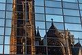 Reflection of St Columba Church of Scotland, Glasgow, Scotland 08.jpg