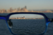 a394de354d6 Seattle skyline as seen through a corrective lens