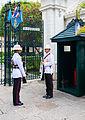 Regimiento Primero de Infantería de la Guardia Real, Gran Palacio, Bangkok, Tailandia, 2013-08-22, DD 06.JPG