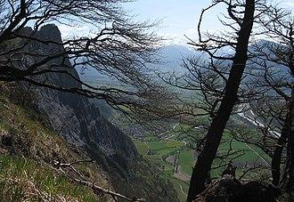 Fläscherberg - View from near the summit