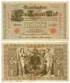 Reichsbanknote 1000 Mark von 1910 Nr 1584964H.png