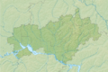 Relief map of Mari El.png