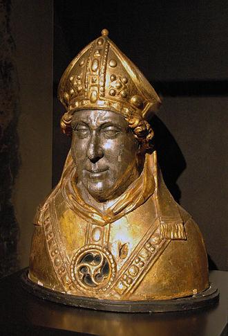 Engelbert II of Berg - Image: Reliquienbueste Engelbertvon Koeln
