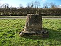 Remains of Cross - geograph.org.uk - 1716368.jpg