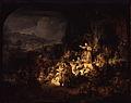 Rembrandt - Preaching of Saint John the Baptist - Gemäldegalerie Berlin.jpeg