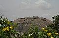 Remote view of Bhongir Fort 01.JPG