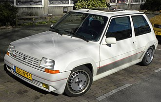 Renault 5 - Second generation R5 GT Turbo