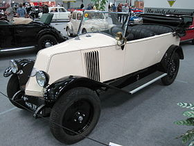 Renault NN cabriolet de 1922.