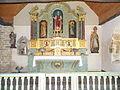 Retable Chapelle Saint Laurent de Plémy - Vue de face.JPG