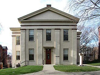 Joukowsky Institute for Archaeology and the Ancient World - Rhode Island Hall, home of the Joukowsky Institute