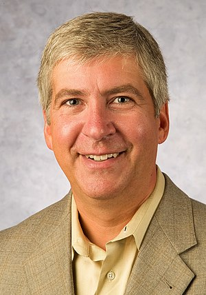 Michigan gubernatorial election, 2010 - Image: Rick Snyder