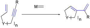 Enyne metathesis - Scheme 2. Ring Closing Enyne metathesis
