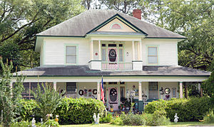 Odum, Georgia - Ritch–Carter–Martin House in Odum, on the National Register of Historic Places