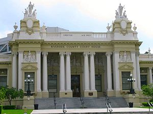 Riverside County, California - Image: Riverside County Courthouse, 1903