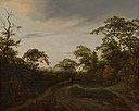 Road through a Wooded Landscape at Twilight by Jacob van Ruisdael Mauritshuis 728.jpg