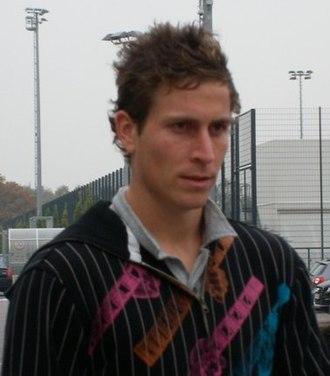 Rob Friend - Friend after Borussia Mönchengladbach training, October 2007