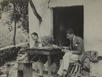 Robert Byron - Byron and Desmond Parsons in China sometime prior to 1937