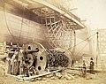 Robert Howlett - Isambard Kingdom Brunel (1806-59) beside the Great Eastern c1857.jpg
