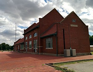 National Register of Historic Places listings in Jefferson County, Oklahoma - Image: Rock Island Passenger Station